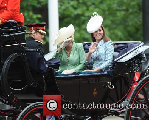 Duchess Of Cambridge, Camilla and Duchess Of Cornwall 4