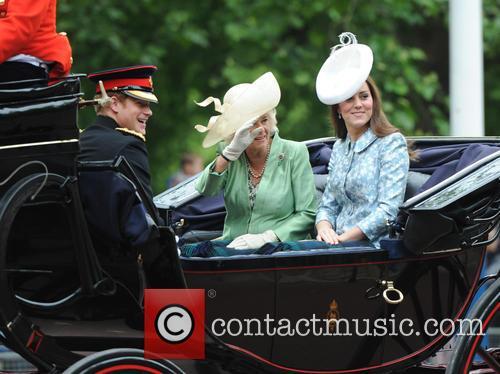 Duchess Of Cambridge, Camilla and Duchess Of Cornwall 6