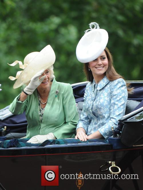 Duchess Of Cambridge, Camilla and Duchess Of Cornwall 8