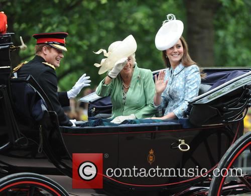 Duchess Of Cambridge, Camilla, Duchess Of Cornwall and Prince Harry 9