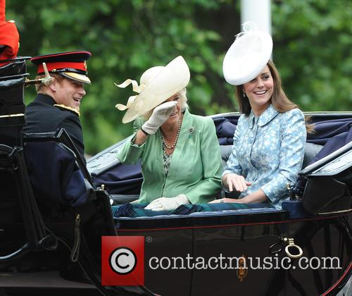 Duke Of Cambridge, Catherine and Prince Harry 4
