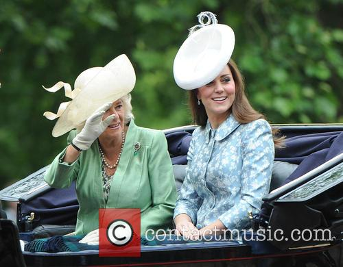 Catherine, Duchess Of Cambridge, Camilla and Duchess Of Cornwall 9