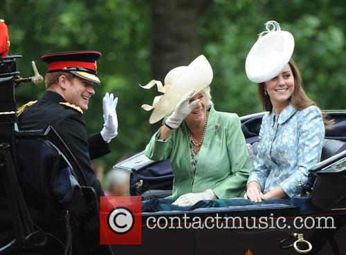 Catherine, Duchess Of Cambridge, Prince Harry, Camilla and Duchess Of Cornwall 10