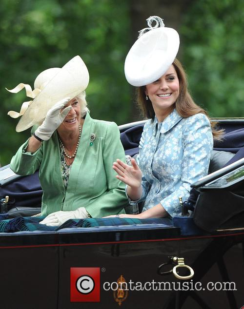 Catherine, Duchess Of Cambridge, Camilla and Duchess Of Cornwall 11