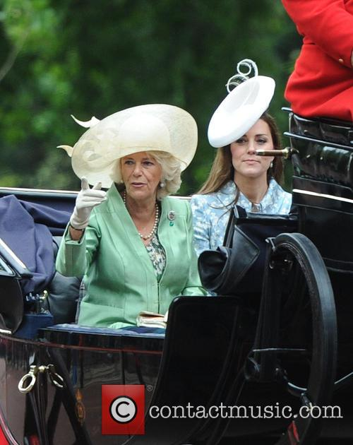 Duchess Of Cornwall and Duchess Of Cambridge 2