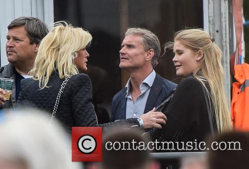 David Coulthard at the Isle of Wight festival