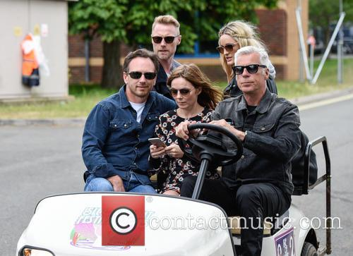 Geri Halliwell, Christian Horner, Geri Horner, Ronan Keating and Storm Uechtritz 5