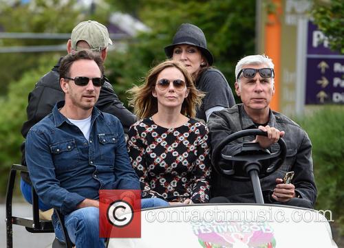 Geri Horner, Christian Horner and Geri Halliwell 4