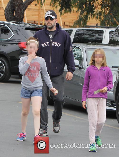 Ben Affleck and Violet Affleck 3
