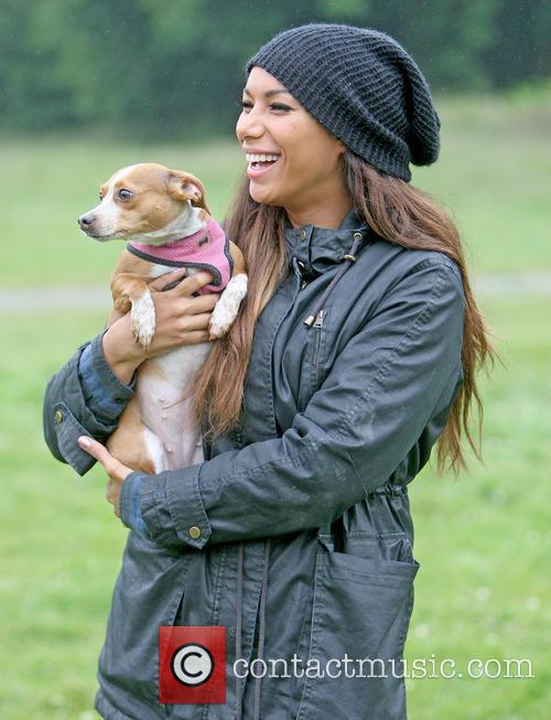 Leona Lewis attends the annual Animal Sanctuary Fundraising...