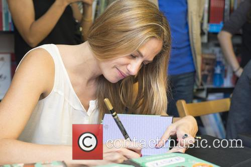 Martina Klein signs copies of her new children's...