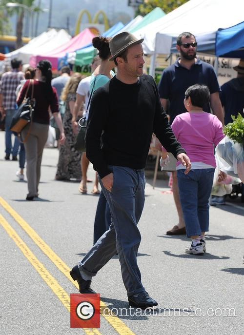 Scott Caan at the Farmers Market