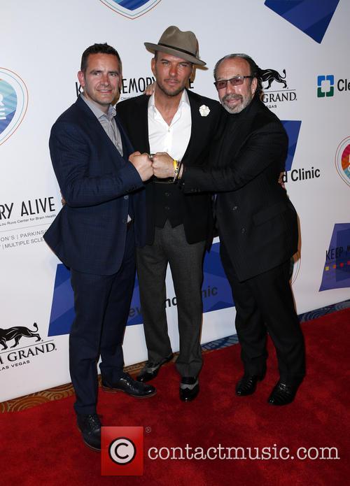Bernie Yuman, Matt Goss and Guest 3