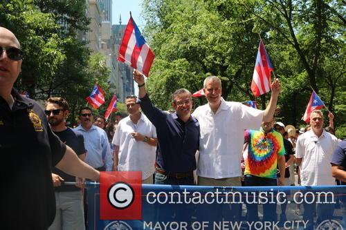 Puerto Rico Governor Alejandro Garcia Padilla and Bill Deblasio 1