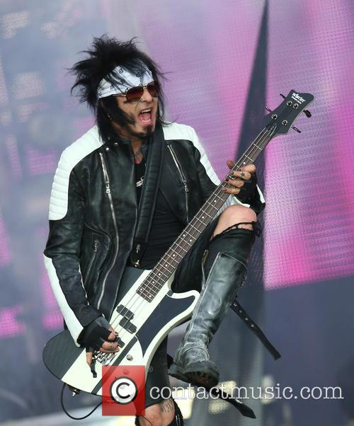 Nikki Sixx and Mötley Crüe 2