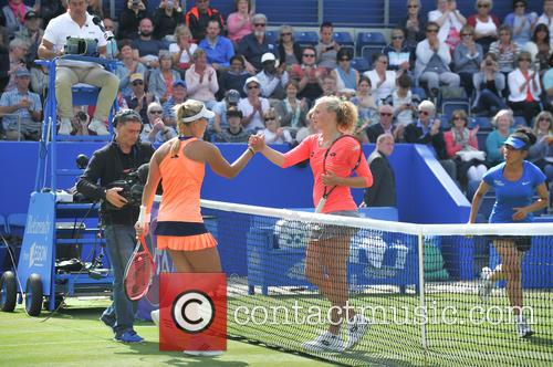 Angelique Kerber and Katerina Siniakova 11