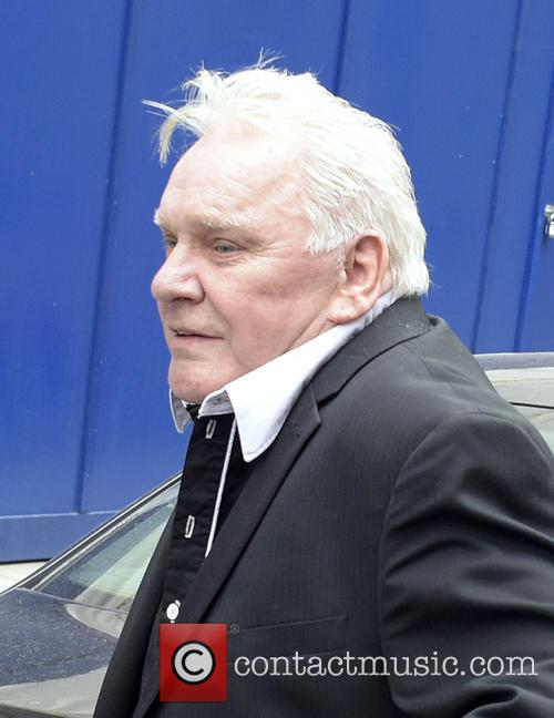 Freddie Starr leaving the Royal Courts of Justice