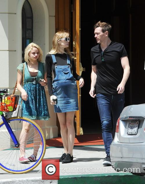 Jaime King, Joey King and Kyle Newman 6