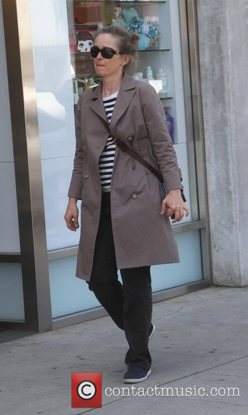 Julie Delpy goes shopping in Beverly Hills