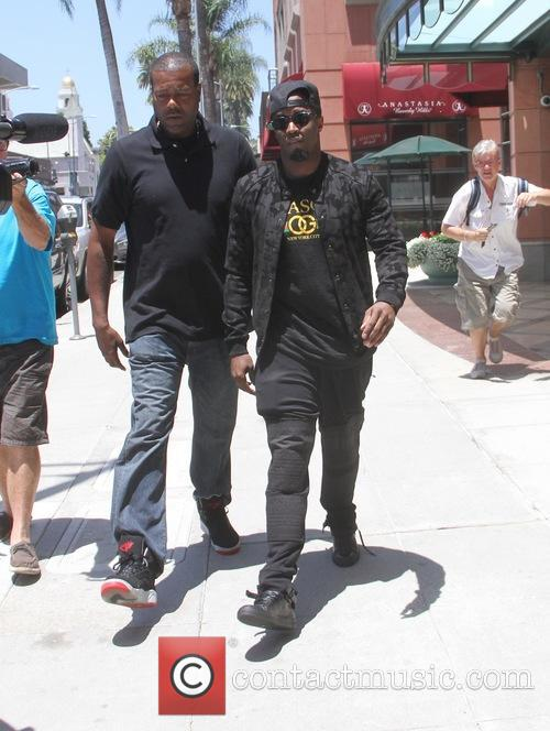Sean Combs leaves an office in Beverly Hills