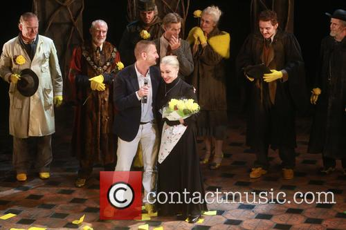 Tom Kirdahy, Chita Rivera and Cast 10