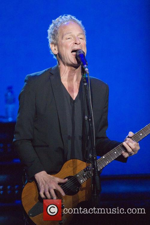 Lindsey Buckingham performs live with Fleetwood Mac