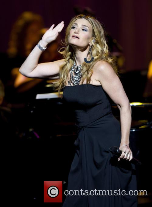 Idina Menzel performing at the Royal Theatre Carre