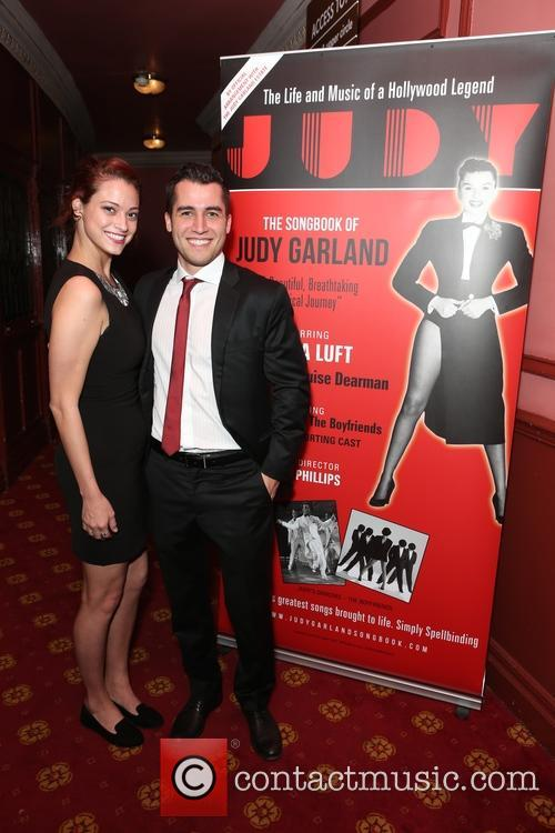 Judy Garland, Guest and Jared Morello 2