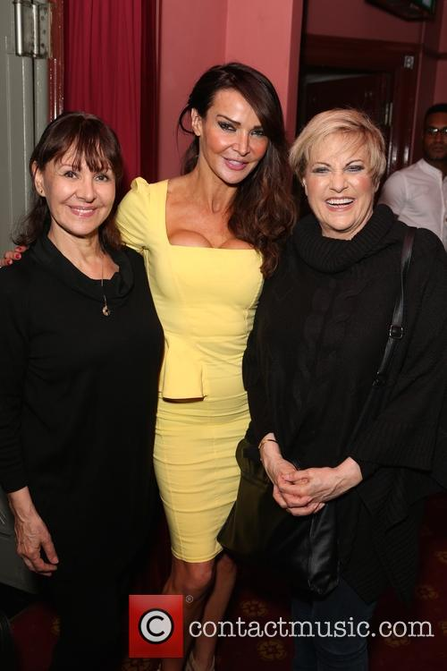 Arlene Phillips, Lizzie Cundy and Lorna Luft 1