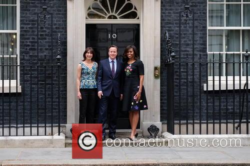 Michelle Obama, David Cameron and Samantha Cameron 10