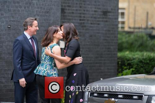 Michelle Obama, David Cameron Mp and Samantha Cameron 2