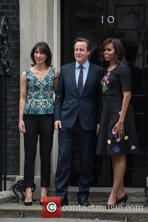 Michelle Obama visits Downing Street