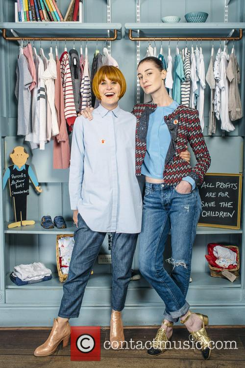 Erin O'connor and Mary Portas 5