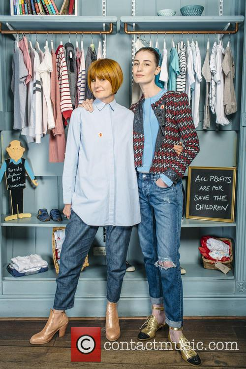 Erin O'connor and Mary Portas 6