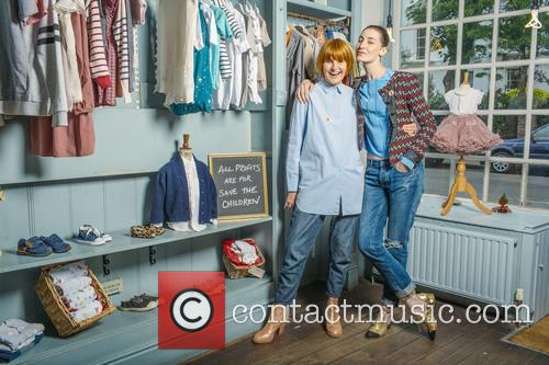 Erin O'connor and Mary Portas 7