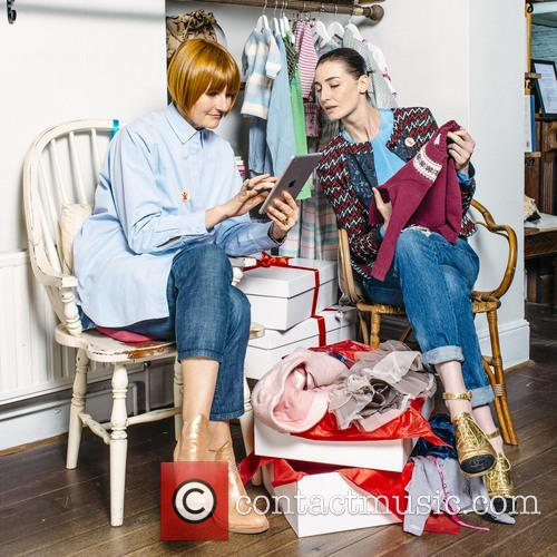 Erin O'connor and Mary Portas 11