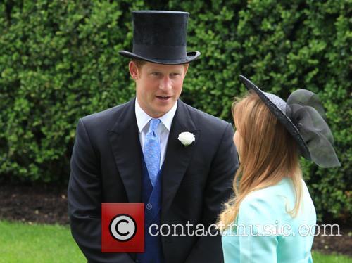 Prince Harry and Princess Beatrice 2