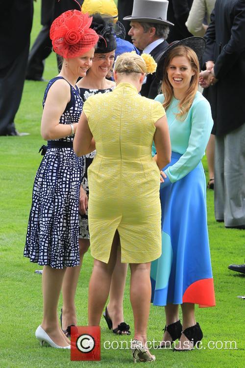 Princess Beatrice and Zara Philips 2