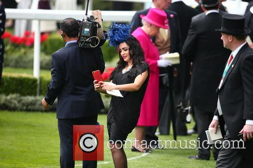 Royal Ascot Racegoer and Queen Elizabeth Ll 2