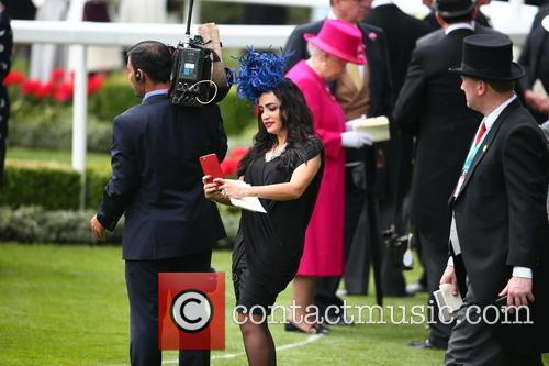 Royal Ascot Racegoer and Queen Elizabeth Ll 3