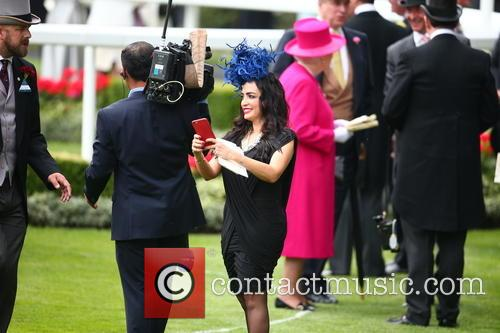 Royal Ascot Racegoer and Queen Elizabeth Ll 4
