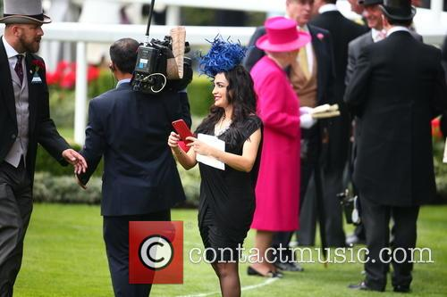Royal Ascot Racegoer and Queen Elizabeth Ll 5