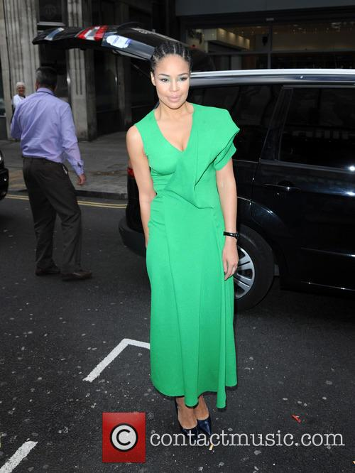 Sarah Jane Crawford arrives at The Little Mix...