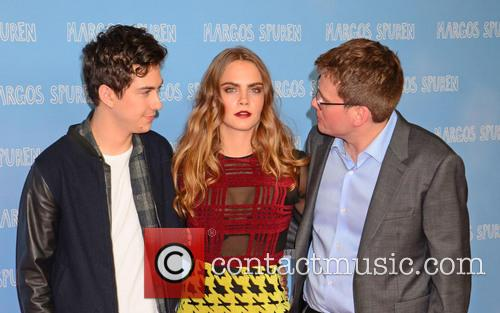 Nat Wolff, Cara Delevingne and John Green 9