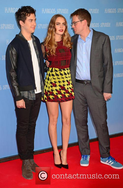 Nat Wolff, Cara Delevingne and John Green 10