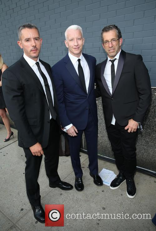 Benjamin Maisani, Anderson Cooper and Kenneth Cole 2