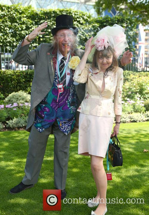 John Mccririck and Jenny Mccririck 2