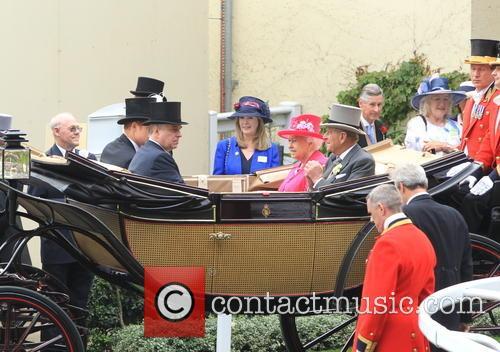 Prince Harry, Prince Andrew, Duke Of York, Queen Elizabeth Ii, Prince Philip and Duke Of Edinburgh 3