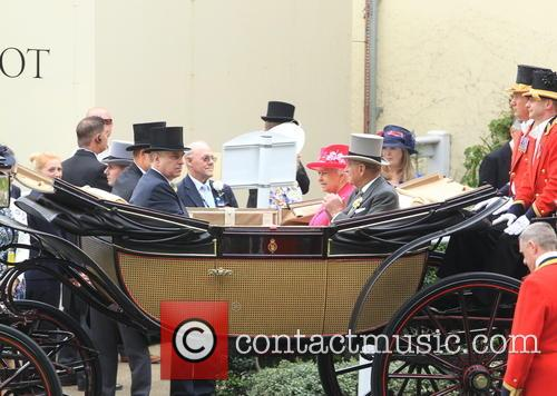 Prince Harry, Prince Andrew, Duke Of York, Queen Elizabeth Ii, Prince Philip and Duke Of Edinburgh 4