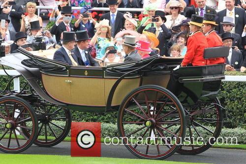 Prince Harry, Prince Andrew, Duke Of York, Queen Elizabeth Ii, Prince Philip and Duke Of Edinburgh 5
